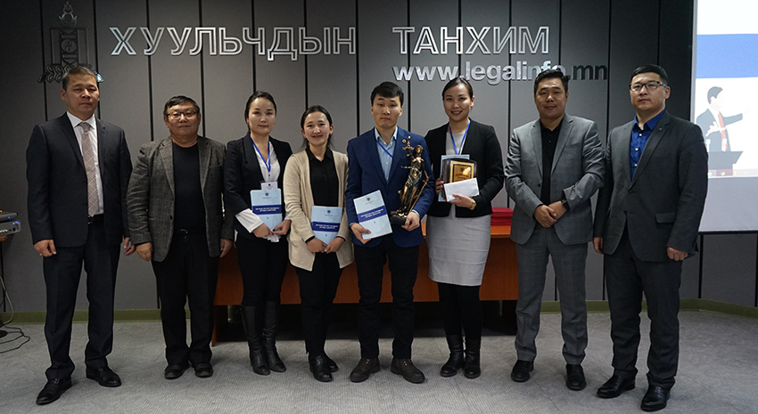 THE TEAM OF MONGOL ADVOCATE LLP WON THE MOCK TRIAL-2018